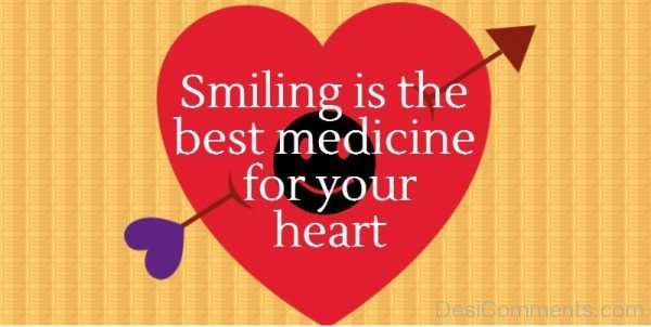 Smiling Is the Best Medicine For Your Heart