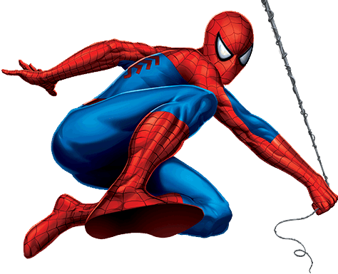 3d spider man transparent - photo #37