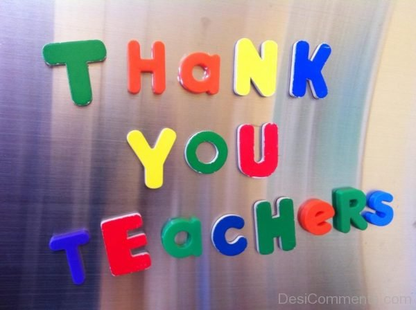 Picture: Thank You Teachers