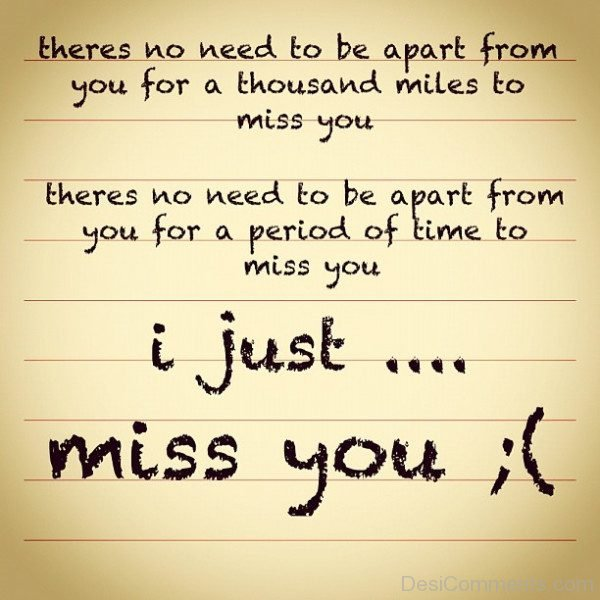 Sad and missing you quotes