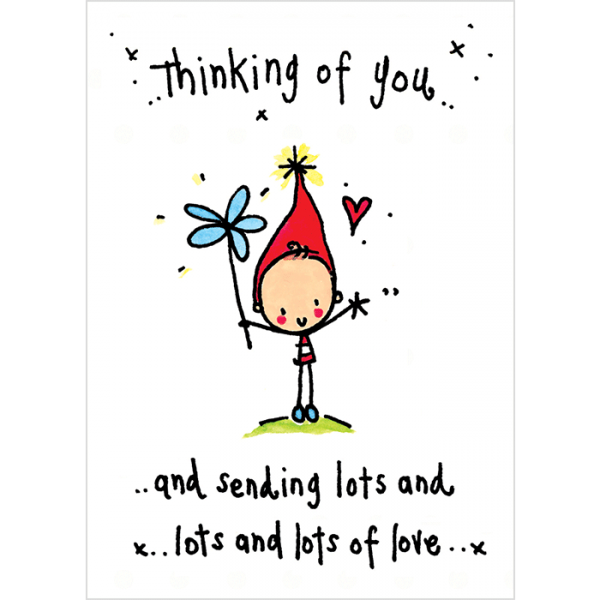 Picture: Thinking Of You And Sending Lots And Lots Love