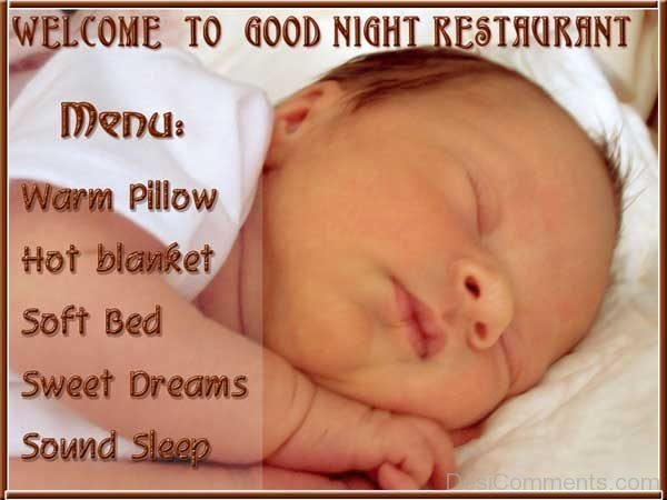 Picture: Welcome To Good Night Restaurant
