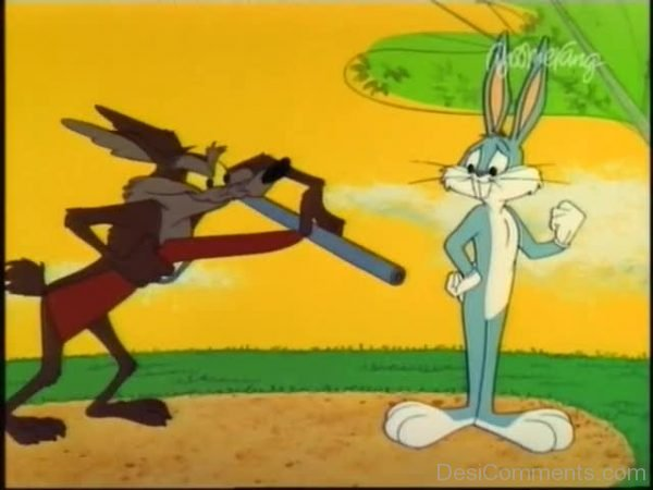 Wile E. Coyote With Bunny