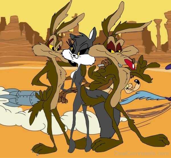 Wile E. Coyote With Friends Image