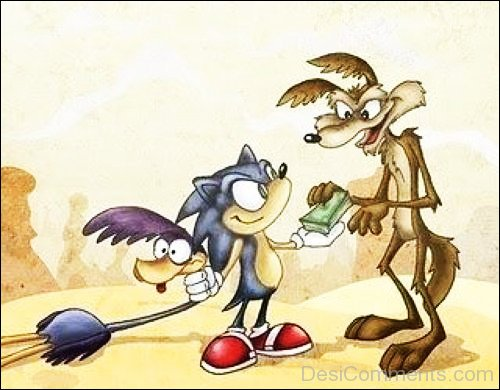 Wile E. Coyote With Friends
