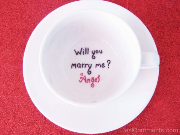 Will You Marry Me Angel