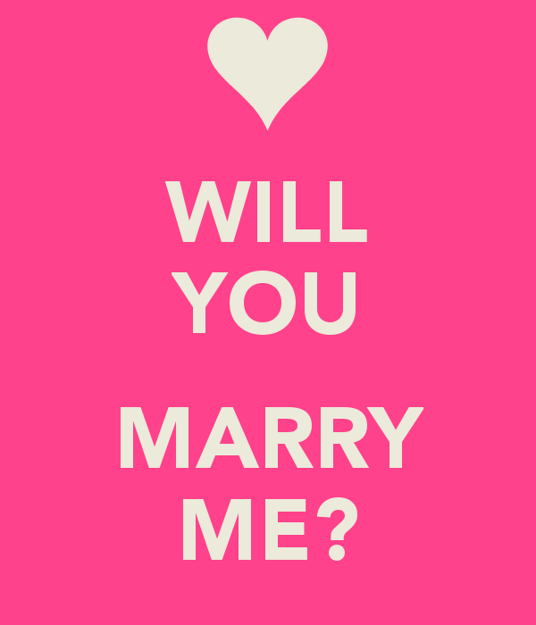 Will You Marry Me Image