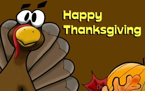 Picture: Wonderful Pic Of Happy Thanksgiving