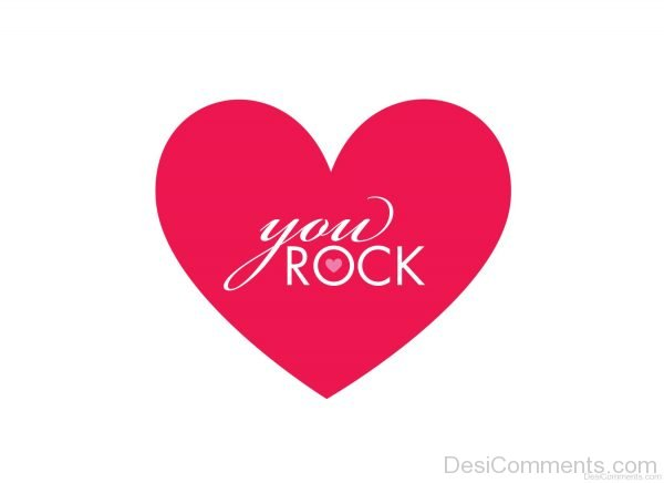 You Rock On Heart