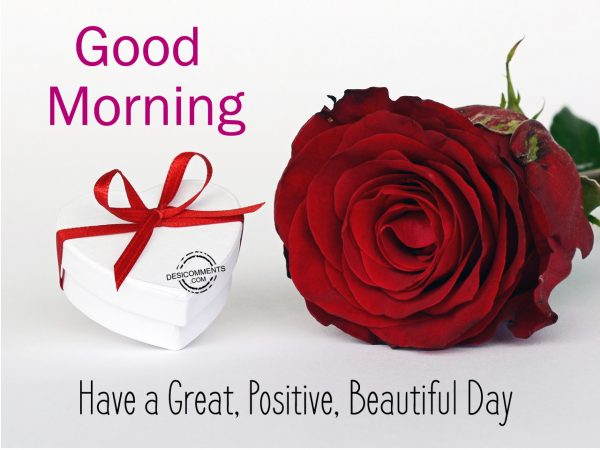 Good Morning Have A Great Postive Beautiful Day