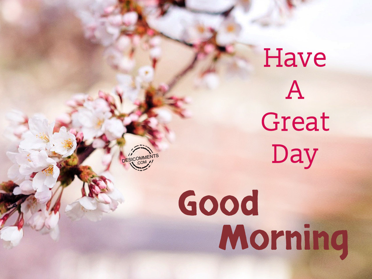 Good Morning Have A Great Day : Have a great day good morning desicomments