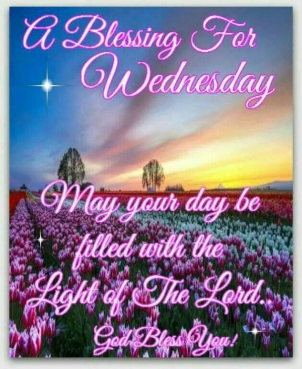 A Blessing For Wednesday