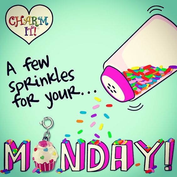 A few sprinkles for your monday
