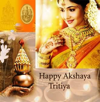 Akshaya Tritiya With Beautiful Lady