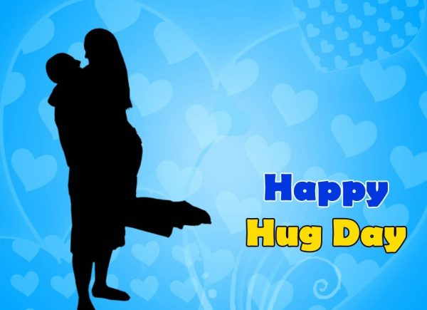 Beautiful Image Of Happy Hug Day
