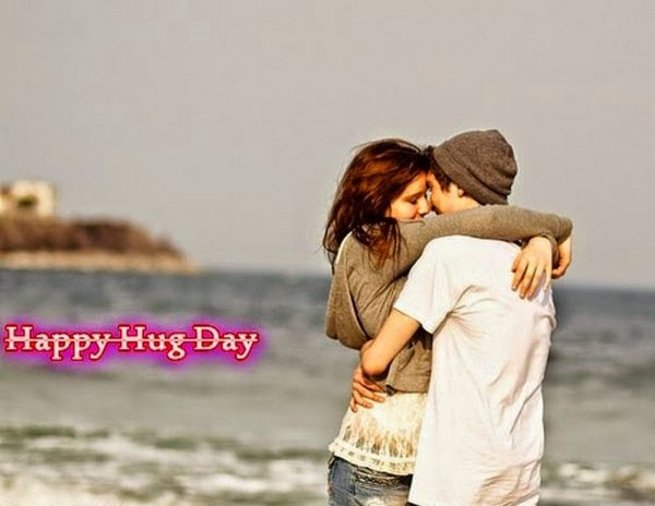 Beautiful Pic Of Happy Hug Day