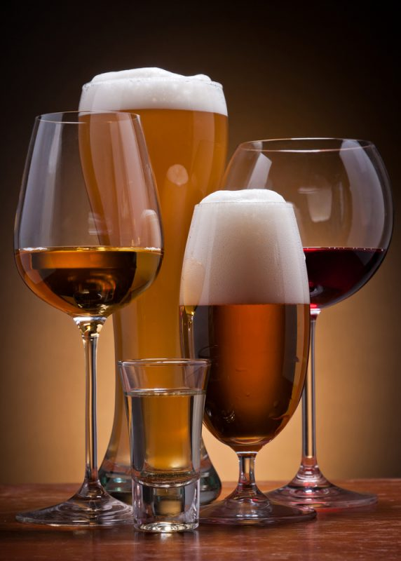 Picture: Beer And Wine Glasses