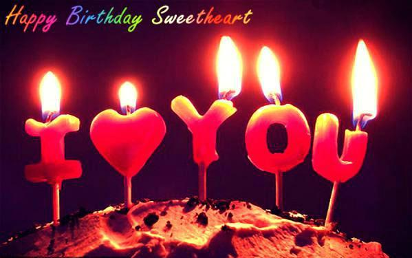 Picture: Birthday Wishes For Sweetheart