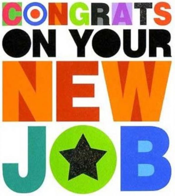 Congratulations Quotes New Job Position: Congrats On Your New Job