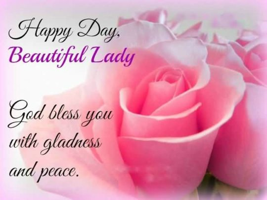 Picture: God Bless You With Gladness And Peace
