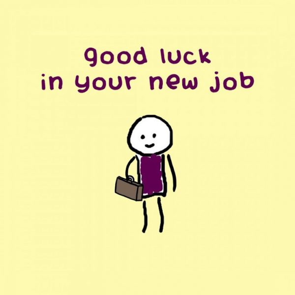 Good Luck In Your New Job Image
