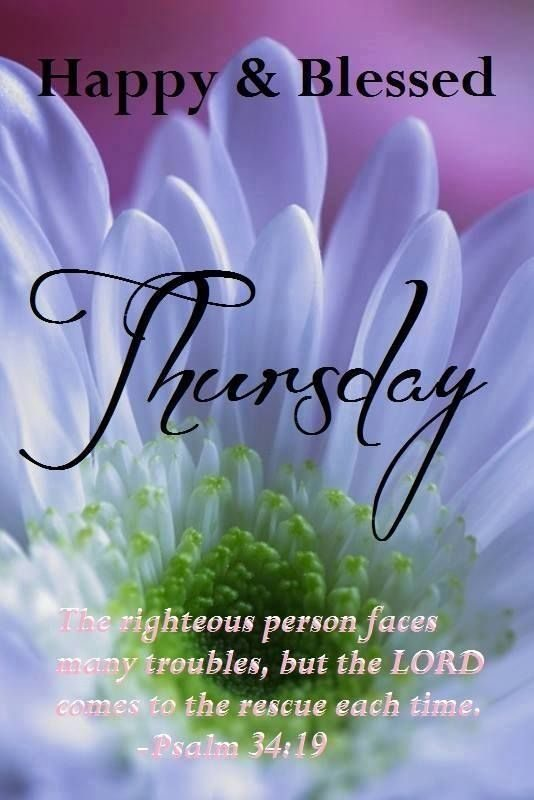 Happy And Blessed Thursday
