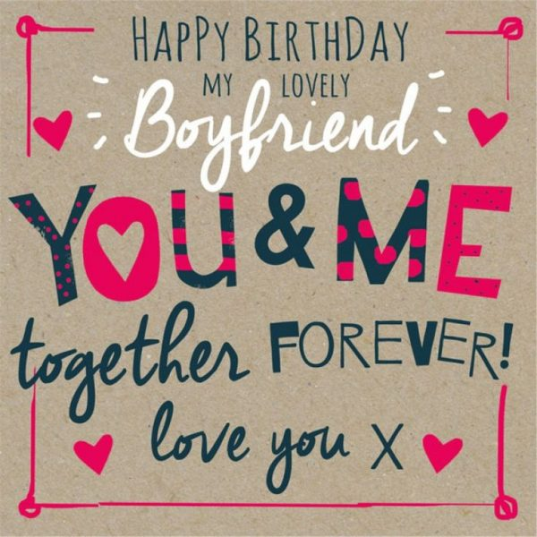 Happy Birthday My Lovely Boyfrind
