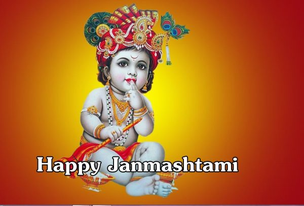 Happy Janmashtami Image !