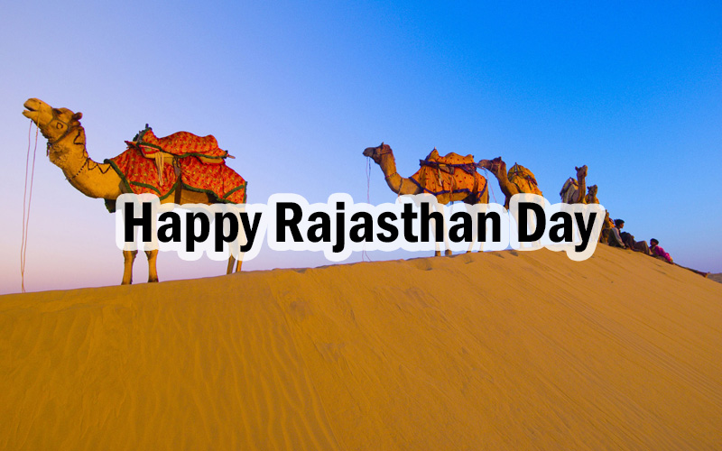 Happy Rajasthan Day - DesiComments.com