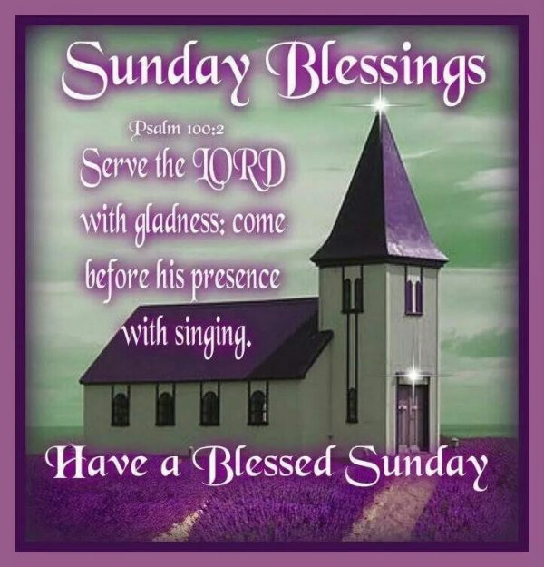 Have A Blessed Sunday Photo