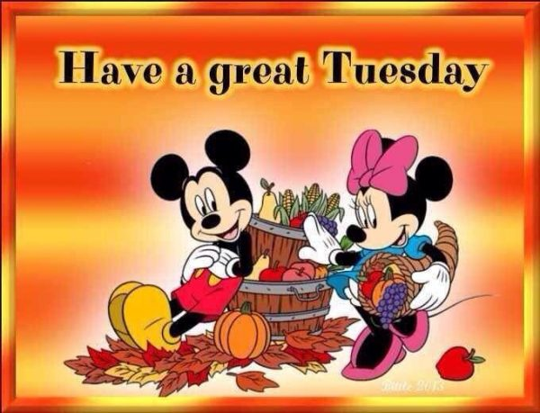 Have A Great Tuesday !