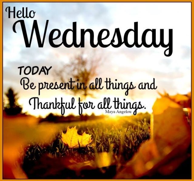 Wed Morning Quotes: Wednesday Pictures, Images, Graphics For Facebook
