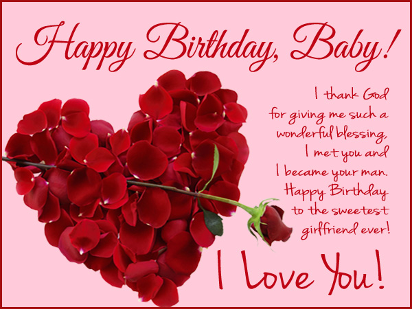 Birthday wishes for girlfriend pictures images graphics i thank god for giving me such a wonderful blessing bookmarktalkfo Images