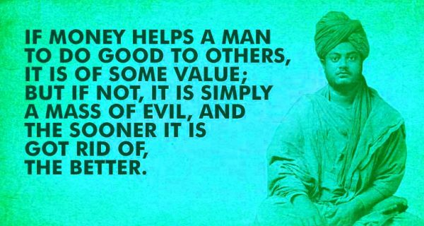 If Money Helps A Man To Do Good To Others