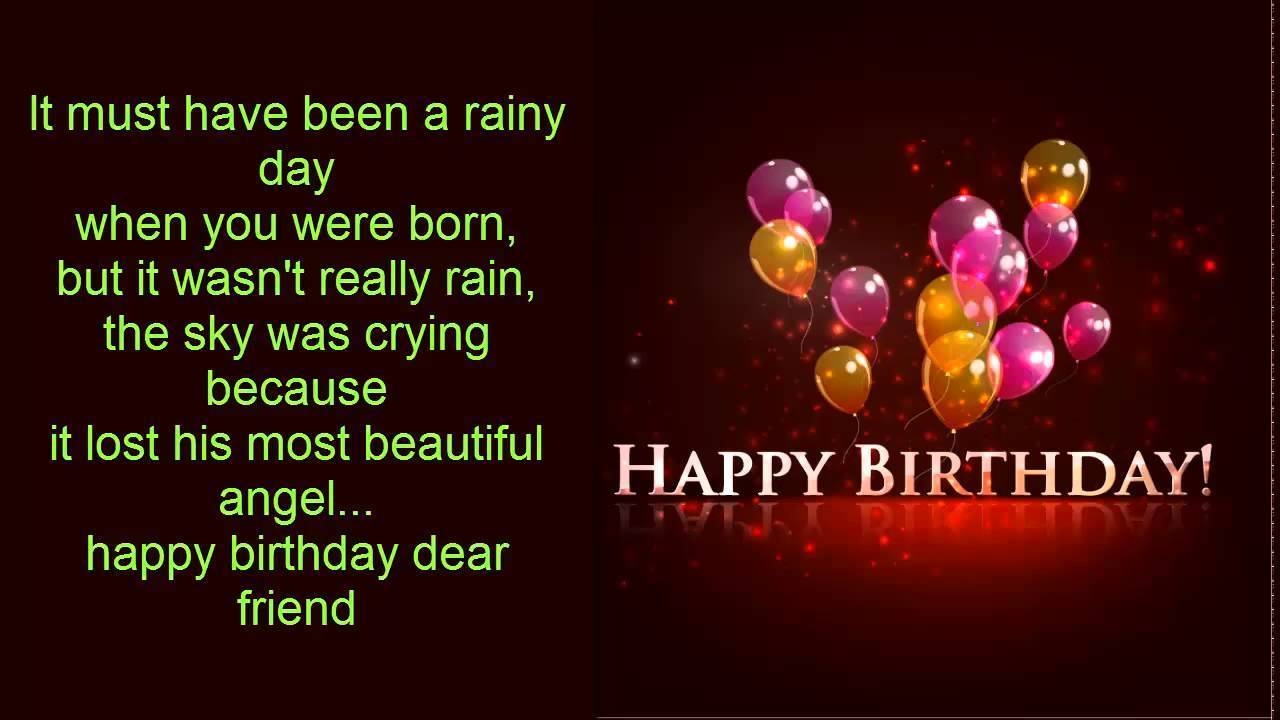 Birthday wishes for girlfriend pictures images graphics page 5 it must have been a rainy day m4hsunfo