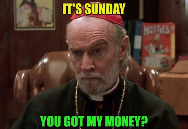 Its Sunday You Got My Money