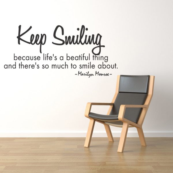 Keep Smiling Because Lifes A Beautiful THing