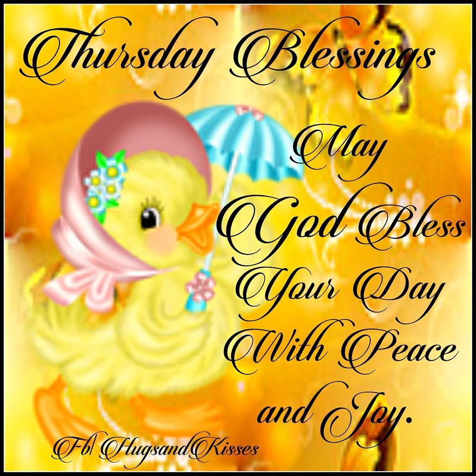 Thursday pictures images graphics page 3 may god bless your day with peace and joy m4hsunfo