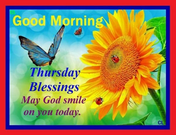 May God Smile On your Today