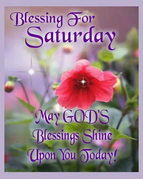 May God's Blessings Shine Upon You Today