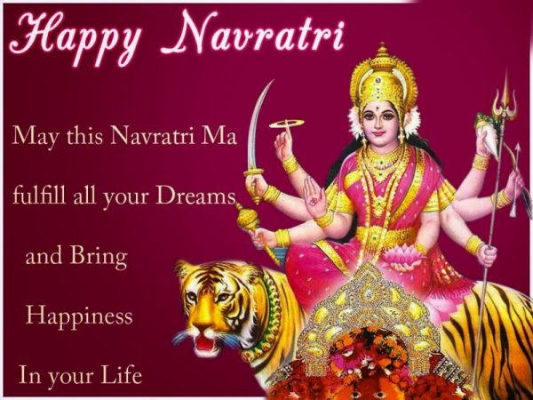 May This Navratri Fulfil All Your Dreams