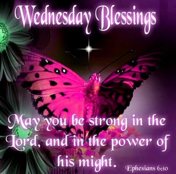 May You Be Strong In the Lord