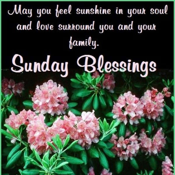 May You Feel Sunshine In Your Soul