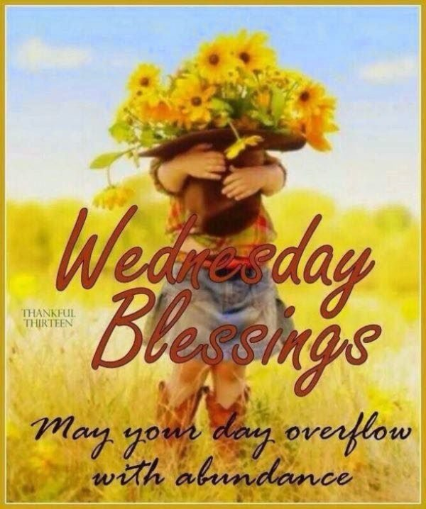 May Your Day Overflow With Abundance