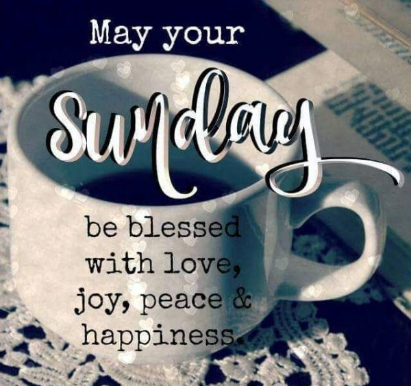 May Your Sunday Be Blessed With Love