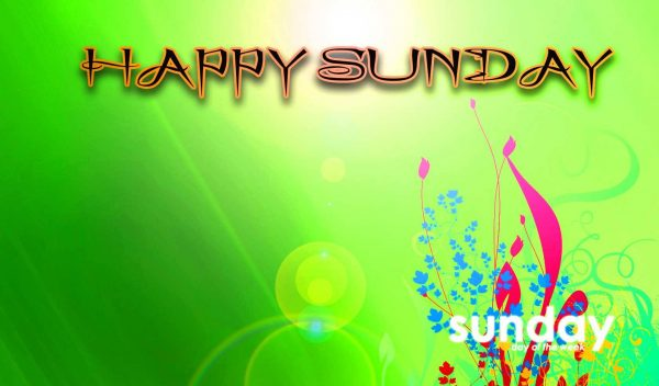 Nice Pic Of Happy Sunday
