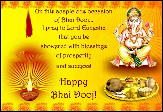 On This Auspicious Occasion Of Bhai Dooj