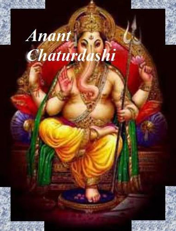 Picture: Pic Of Happy Anant Chaturdashi