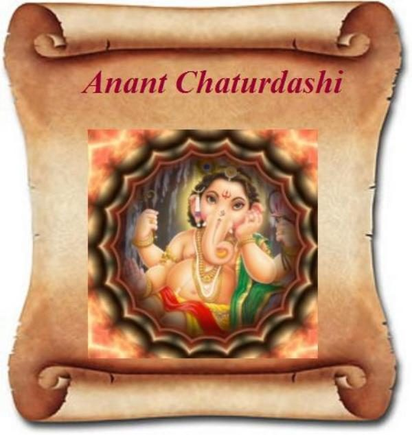 Picture Of Anant Chaturdashi