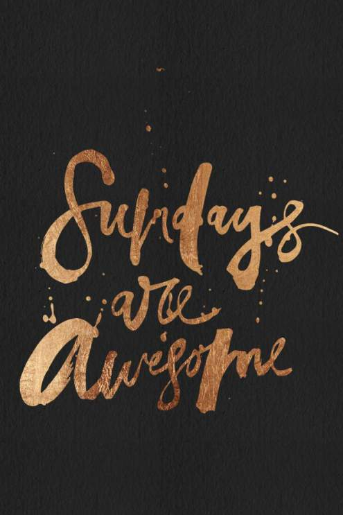 Saturday Are Awesome Image